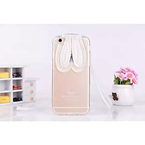 SHOUJIKE Fashion and Anti-Scrape Soft Rabbit Girl Style for iPhone 6 (Assorted Colors) , Purple