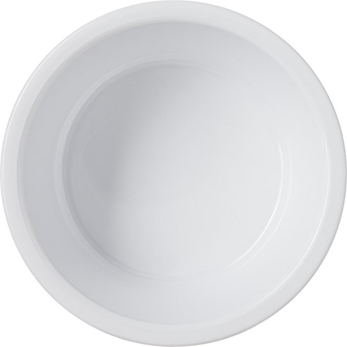 Carlisle 084502 SAN Fluted Ramekin, 4.5-o.z Capacity, 1.50 x 3.50'', White (Case of 48) by Carlisle (Image #2)