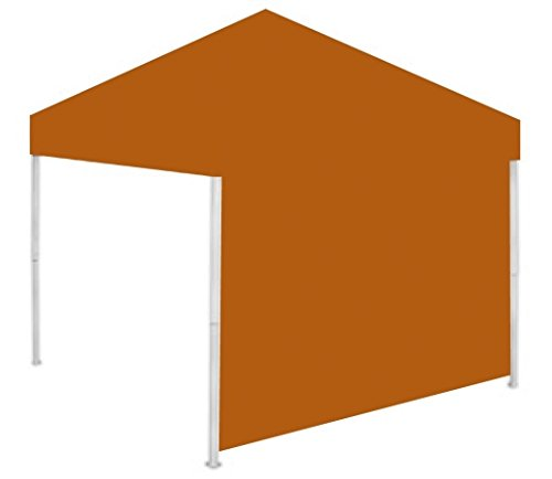 Rivalry Team Logo Tailgating Outdoor Canopy Sidewall Burnt Orange by Rivalry