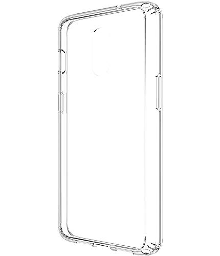 Oneplus 6t Case, Asmart See-Through Oneplus 6t Case Clear Crystal Cover  Slim Transparent Protective Phone Case for Oneplus 6t T-Mobile (Clear)