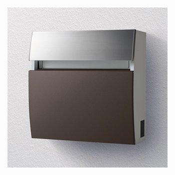 パナソニック製おしゃれ郵便ポスト フェイサスラウンドCTC2203MA(エイジングブラウン) メールボックス B00LZTVZ8G