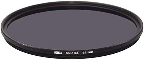 Solid ICE 耐衝撃 82mm ND64 フィルター ニュートラルデンシティーND 6ストップ 強化光学ガラス
