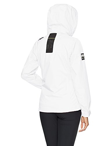 Donna Hooded Hansen Crew Giacca Helly W Bianco Midlayer Jacket FxzRTw
