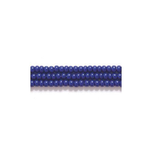 Preciosa Ornela Czech Seed Bead, Opaque Navy Blue, Size 11/0 Shipwreck Beads 11SB178