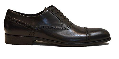 Hugo Boss - Zapatos de cordones de Piel para hombre marrón oscuro