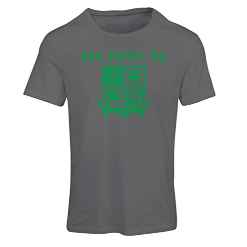 Camiseta mujer Saint Patrick's day Shamrock symbol - Irish party time Grafito Multicolor