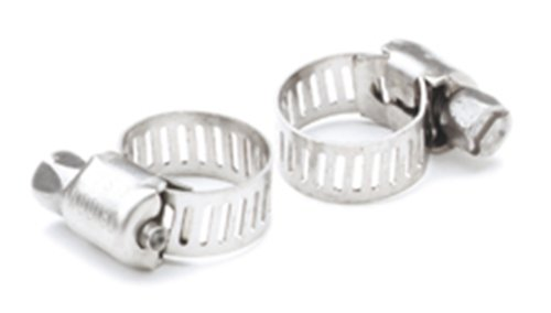 SeaSense Stainless Steel Hose Clamps, 1/4-Inch to 5/8-Inch Pair