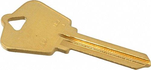 - Arrow Key Blank, Brass 50 Pack