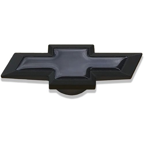 Pro Form 141-339 Large Chevy Bowtie Air Cleaner Nut, Black Crinkle
