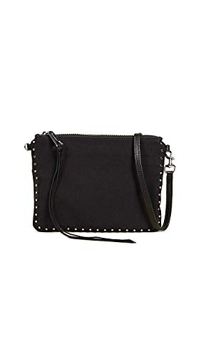 Rebecca Minkoff Women's Jon Crossbody Bag, Black, One Size