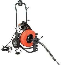 Amazon Com General Wire The Metro Drain Sewer Cleaning Machine W 100 X 9 16 Cable 4 Pc Cutter Set P Me C S Everything Else