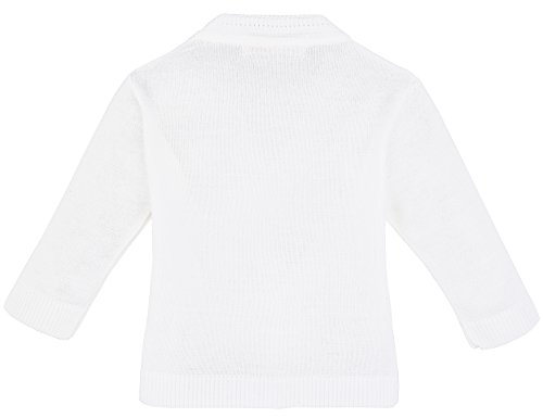 23f0140bd Amazon.com  Lilax Baby Boy Cable-Knit Basic Knit Cardigan Sweater ...