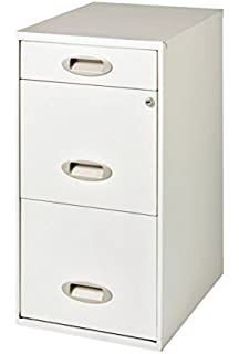 Amazon.com: Stockport 3 Drawer File Cabinet in Classic Black ...