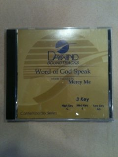 Word Of God Speak [Accompaniment/Performance Track]