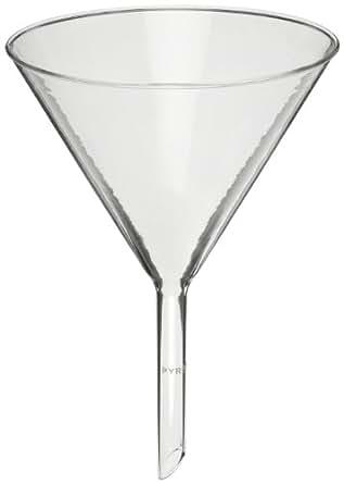 Corning Pyrex 6120-6 Borosilicate Glass Plain Funnel, with