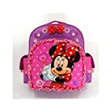 "Disney Minnie Mouse All About Bow 12"" Toddler Backpack"
