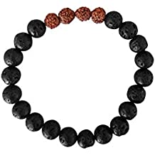 Kuratif Beaded Bracelet for Woman and Men by Genuine Gemstones- Yoga, Relaxation, Meditation and Healing