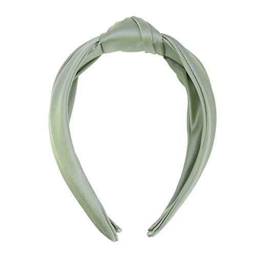 Lurrose Vintage Cloth Art Hair Hoop Adorable Broadside Cross Knot Banda para el Cabello Accesorios para el Cabello para...