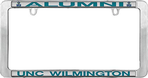 University of North Carolina Wilmington Alumni Chrome License Plate Frame, Thin Rim