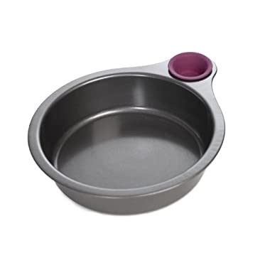 Quirky Nibble Cake Pan 8  Non Stick With Silicone Tasting Cup