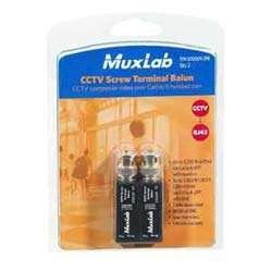 SCREW TERMINAL BALUN, 2 PACK by Muxlab