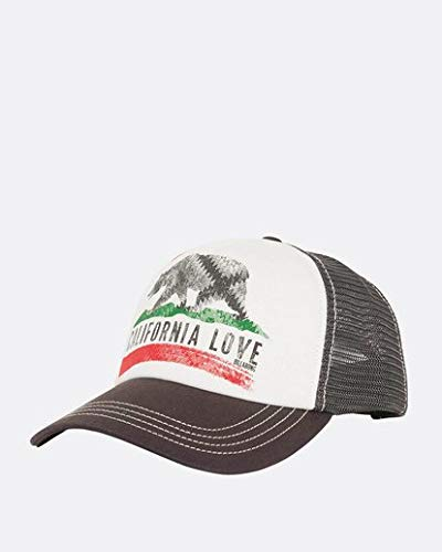 Billabong Men's Pitstop Trucker Hat, Charcoal, One Size -