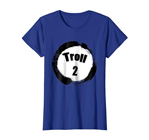 (Womens Troll 2 Halloween Group Costumes Trick or Treat T-shirt XL Royal)