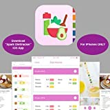 [Scan & Read] Health, Diet, and Wellness Check - pH & Ketone Test Strips with Mobile App Reader (iPhone) for Urine Testing - Measure and Track Alkaline State, Keto Diet, or Ketosis with Smartphone App