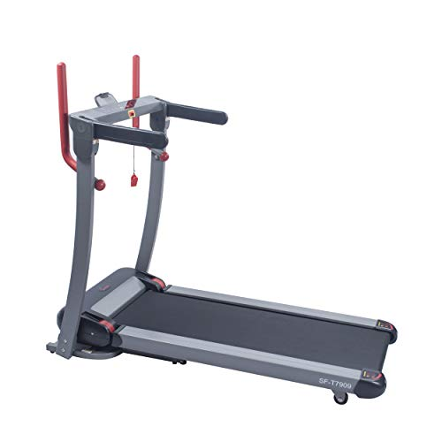 Sunny Health & Fitness Incline Treadmill with Bluetooth Speakers and USB Charging Function - SF-T7909