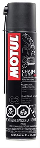 Motul 103244 M/C Care Road Chain Lube, 9.3oz, 9.3 Fluid_Ounces (Chain Motorcycle Lube)