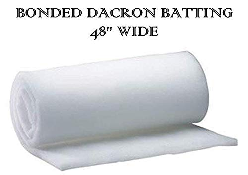 "AK TRADING CO - 48"" x 5 Yards. Bonded Dacron CertiPUR-US for sale  Delivered anywhere in USA"