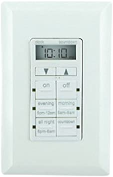 GE 26893-P1 My TouchSmart Simple Set In-Wall Digital Light Lamp Timer Free Ship