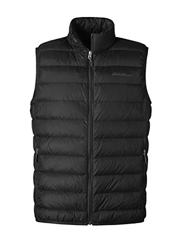 Eddie Bauer Men's CirrusLite Down Vest, Black Regular M ()