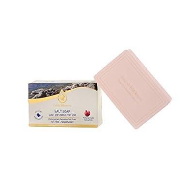 Dead Sea Pomegranate Sensation Salt Soap Extra Mineral 125 Grams
