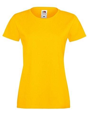 Cotone T Lady Fruit Sofspun Ss705 Morbida Fit Of shirt The Girasole Loom xOn4SO