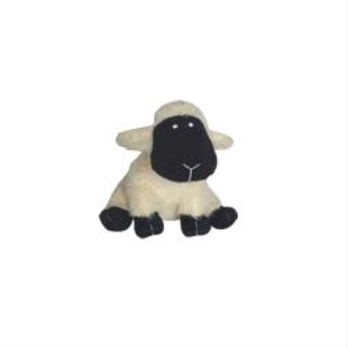 Patchwork Pet Plush Sheep Chew Dog Toy