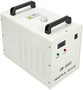 100W CO2 Laser Graviermaschine 900x600mm with Rotary Axis CW3000 Wasserk/ühler