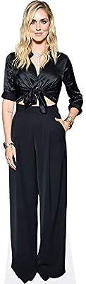 Chiara Ferragni Black Outfit a grandezza naturale