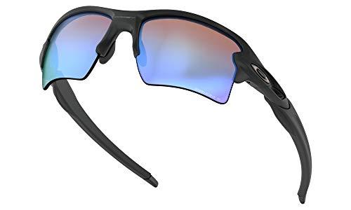Oakley Prizm Deep H2O Polarized (Matte Black) with Oakley Ellipse O Case Sunglasses