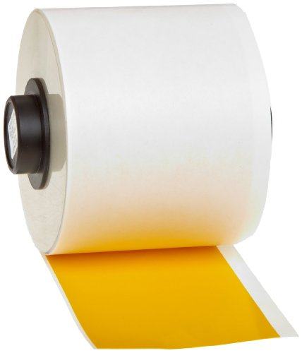 Brady  HandiMark  B-595 Vinyl Film, Yellow Indoor/Outdoor Ta