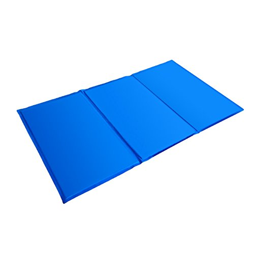 Showlovein Pet Cooling Mat Pad for Dogs Cats, Indoor & Outdoor Pet Mat, Ice Cooler Summer Sleeping Bed by Showlovein (Image #3)