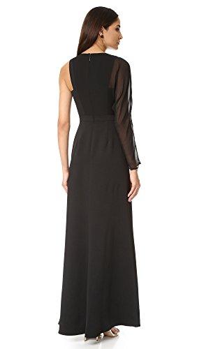 Une Robe Épaule De Noir Des Femmes Bcbgmaxazria