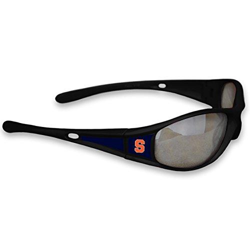 FTH Syracuse Orange Black Sports Elite 3 Sunglasses with Logo