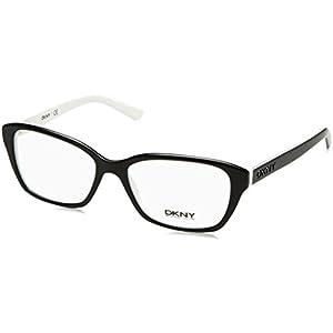 DKNY DY4668 Eyeglass Frames 3627-53 - Black/White