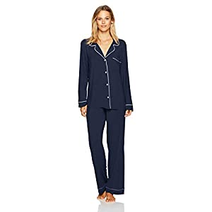Eberjey Women's Gisele Two-Piece Long Sleeve & Pant Pajama Sleepwear Set