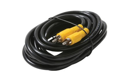 Steren - 25 RCA-RCA RG59 Black Cable
