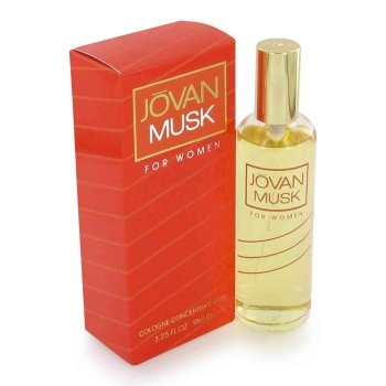 Jovan Cologne Concentrate Spray (Jovan Musk by Coty for women 3.25 oz Cologne Concentrate Spray)