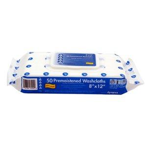 Dynarex 1319 Adult Cleansing Washcloths Refill Soft Refills