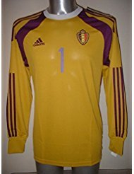 Adidas Bélgica Courtois Adulto Mediano Camiseta de fútbol Chelsea Superior atlético de Madrid