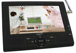 """Supersonic SC-195TV - 7"""" LCD TV (SC195) Category: LCD TV"""